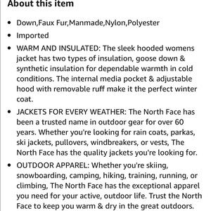 The North Face Jackets & Coats - The North Face Women's Gotham Jacket II
